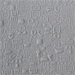 Texture Tile:  Sign Overload Embossed
