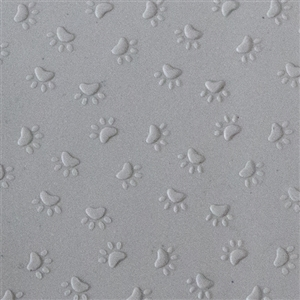 Texture Tile: Wipe Your Paws! Embossed