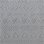 Texture Tile: Tribal Borders Fineline
