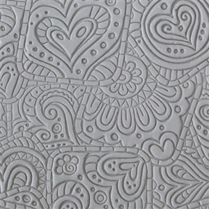 Texture Tile - Doodling Hearts
