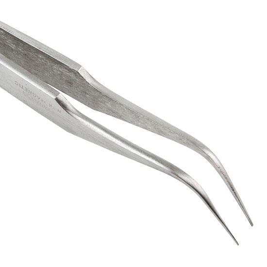 Tweezers - Stainless Steel Bent Tip