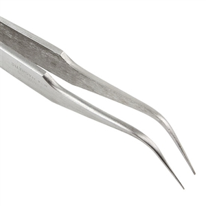 Tweezers - Stainless Steel Bent Tip