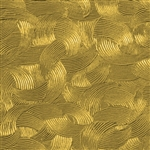 Textured Metal - Brush Strokes - Brass 24 gauge