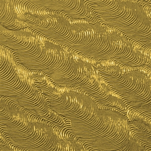 Textured Metal - Crushed Velvet - Brass 24 gauge