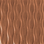 Textured Metal - Willow - Copper 24 gauge