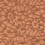 Textured Metal - Floral Love - Copper 24 gauge