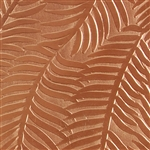 Textured Metal - Ferns or Feathers - Copper 18 gauge