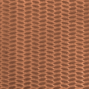 Textured Metal - Tire Tracks - Copper