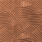 Textured Metal - Cross Hatch - Copper