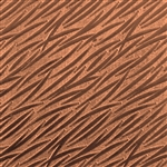 Textured Metal - Banana Leaves - Copper