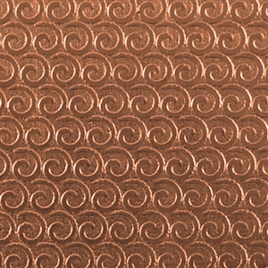 Textured Metal - Perpetual Curl - Copper