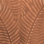 Textured Metal - Ferns or Feathers - Copper