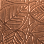 Textured Metal - Leaf It - Copper