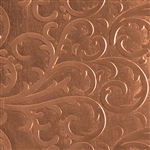 Textured Metal - Fancy Flourish - Copper