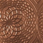 Textured Metal - Mandala - Copper