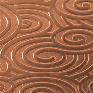 Textured Metal - Round About - Copper