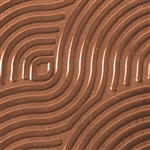 Textured Metal - Groovy - Copper