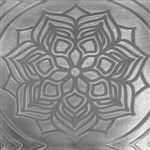 Textured Metal - Blooming Mandala