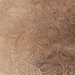 Textured Metal - Faint Paisley