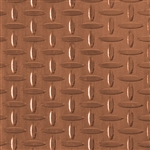 Textured Metal - Screen Door - Copper
