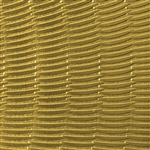 Textured Metal - Sun Rays - Brass 22 gauge