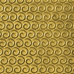 Textured Metal - Perpetual Curl - Brass 22 gauge