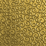 Textured Metal - Mini Gust of Wind - Brass 22 gauge