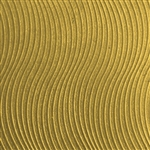 Textured Metal - Mini Wave - Brass 22 gauge