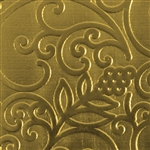 Textured Metal - Fine Wine - Brass 22 gauge