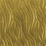 Textured Metal - Zebra - Brass 22 gauge