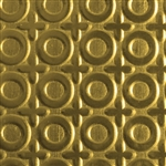 Textured Metal - O Positive - Brass 22 gauge