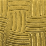 Textured Metal - Weave It - Brass 22 gauge
