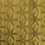 Textured Metal - Stardom - Brass 22 gauge
