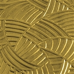 Textured Metal - Jungle Thicket - Brass 22 gauge