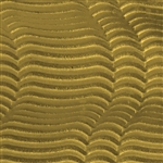 Textured Metal - Heat Wave - Brass 22 gauge