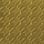 Textured Metal - Many Antenny - Brass 22 gauge
