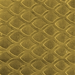 Textured Metal - Interchange - Brass 22 gauge