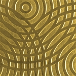 Textured Metal - Sonar - Brass 22 gauge