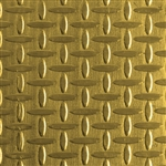 Textured Metal - Screen Door - Brass 22 gauge
