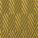 Textured Metal - Checkered Past - Brass 22 gauge
