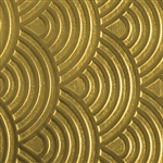 Textured Metal - Over the Rainbow - Brass 22 gauge