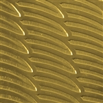 Textured Metal - Going Bananas - Brass 22 gauge