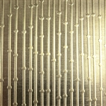 Textured Metal - Beaded Curtain - Brass 22 gauge