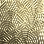 Textured Metal - Geo Storm - Brass 22 gauge