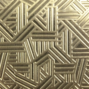Textured Metal - Which Way - Brass 22 gauge