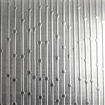Textured Metal - Beaded Curtain - Sterling Silver