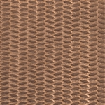 Textured Metal - Tire Tracks - Bronze 22 gauge