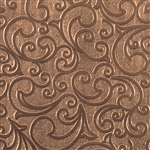 Textured Metal - Whirlwind Small - Bronze 22 gauge