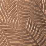 Textured Metal - Ferns or Feathers - Bronze 22 gauge