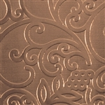 Textured Metal - Fine Wine - Bronze 22 gauge